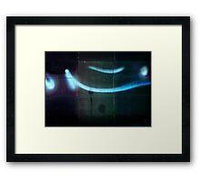 traces. version Framed Print