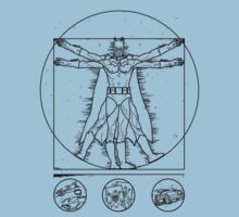 Bat-vitruvian by Saintsecond