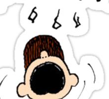 Peanuts - Charlie Brown Sticker
