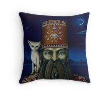 Following the Moon Paths... Throw Pillow