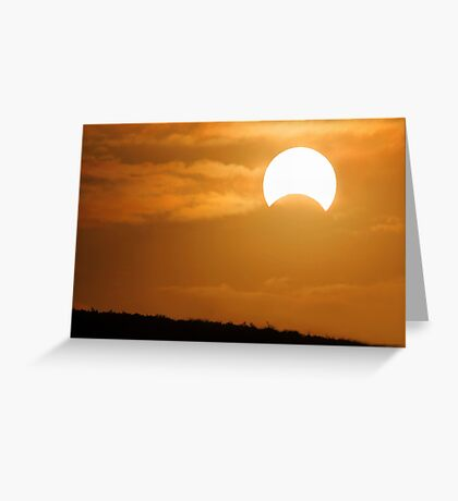 Solar Eclipse - May 10 2013  Greeting Card