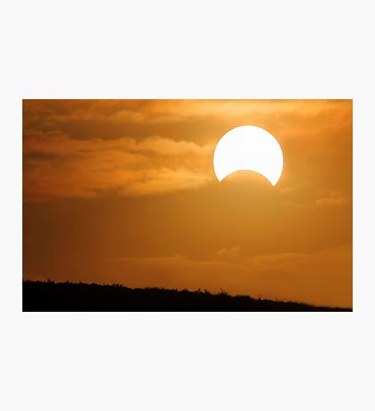 Solar Eclipse - May 10 2013  Photographic Print