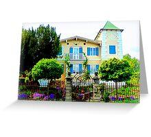 Lovely House in Diessen Greeting Card