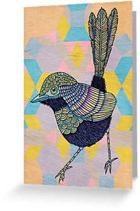 Cherrywood Wren by Drawstring