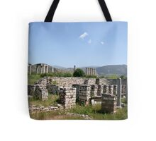 The Courtyard Of The Bishops Palace Tote Bag