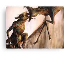 Baby Calf: The Mountain Part 2 (5'x7' Acrylic) Canvas Print