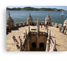 The View from Belem Tower Canvas Print