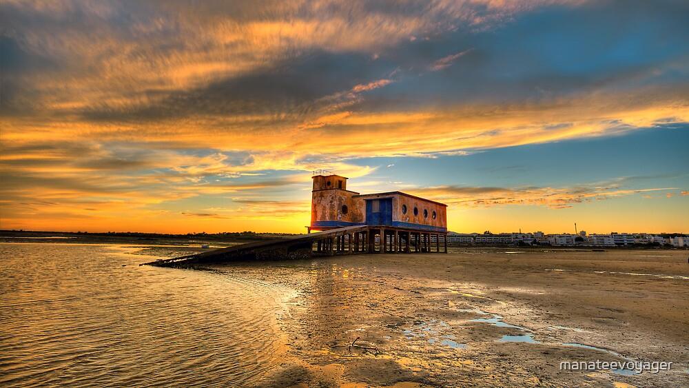 Lifeboat Station Sunset by manateevoyager