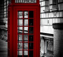Red Phonebox (01) by Paul Stevens