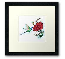 Mother's Nature Rose (Redbubble Challenge Entry) Framed Print