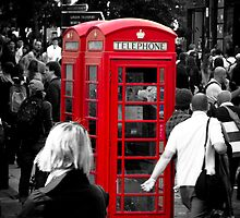 Red Phonebox (02) by Paul Stevens