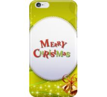 Merry Chrismas Yellow iPhone Case ,Casing 4 4s 5 5s 5c 6 6plus Case - Merry Chrismas Yellow Samsung case s3 s4 s5 iPhone Case/Skin