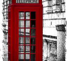 red Phonebox (04) by Paul Stevens