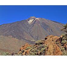 Mount Teide Tenerife Photographic Print