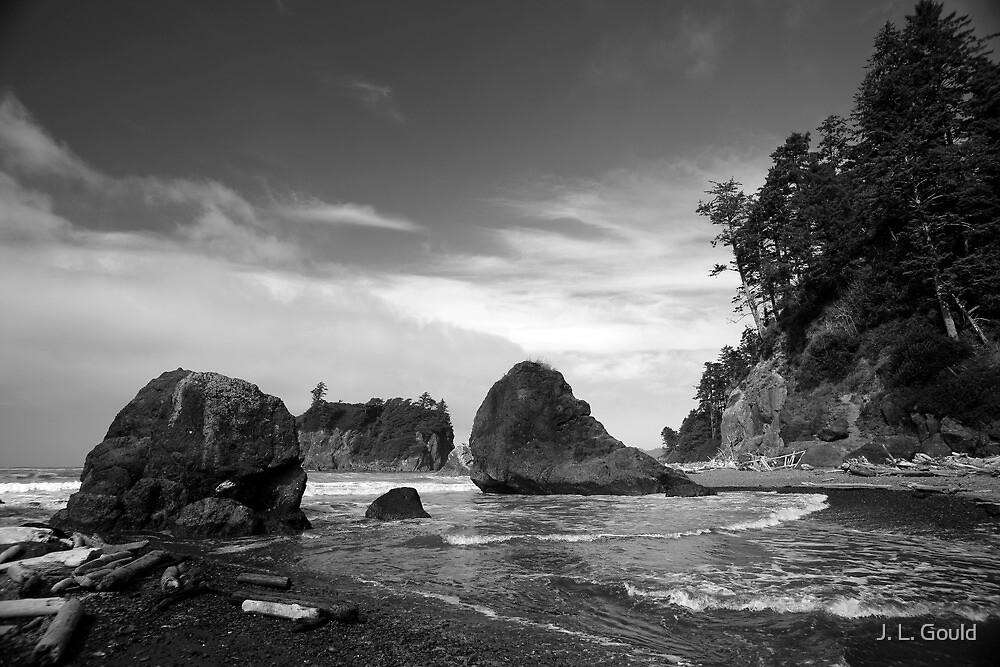 Ruby Beach by J. L. Gould