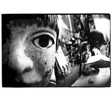 dream of papier-mâché - black and white film Photographic Print