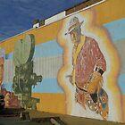 Broncho Billy Street Mural by WildestArt