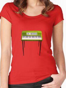WurliKid (green) Women's Fitted Scoop T-Shirt