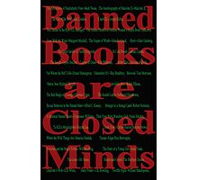 Banned books Photographic Print