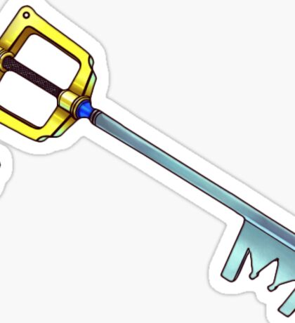 kingdom hearts keyblade Sticker