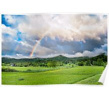 Smoky Mountain Rainbow Poster