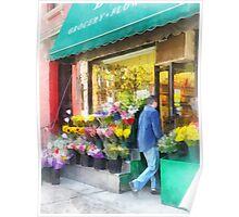 Neighborhood Flower Shop Poster