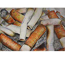 Crayon smoker. Photographic Print
