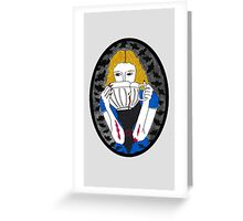 Malissa - Variant I [ Print / Shirt / Ipad / Iphone / Ipod ] Greeting Card