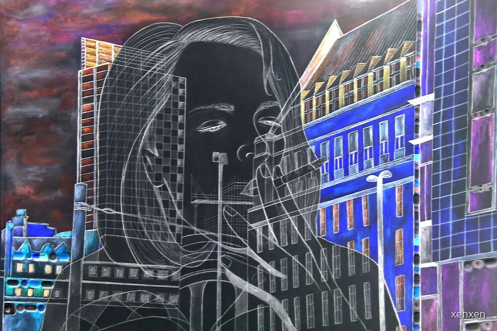 Vibrant city smoker. by xenxen
