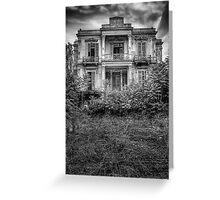 The Salem Mansion v2 Greeting Card
