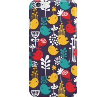 Colorful birds. iPhone Case/Skin