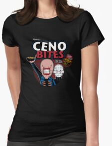 Ceno-bites Womens Fitted T-Shirt