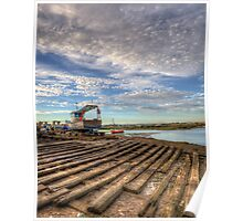 Boatyard Slipway Poster