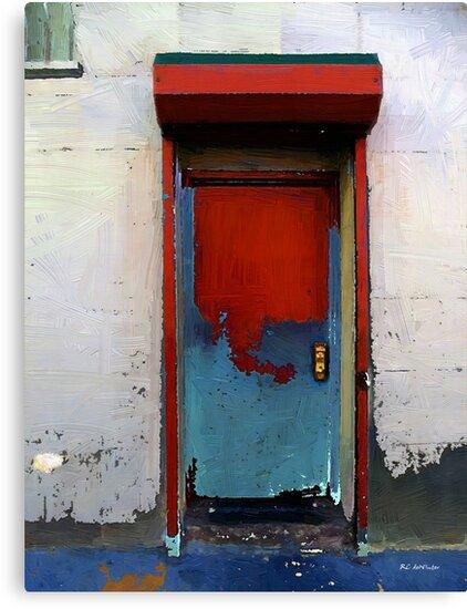 Locked Door, Hell's Kitchen by RC deWinter