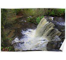 Summer Lodge Falls, Swaledale, England Poster