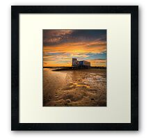 Lifeboat Station Sunset Framed Print
