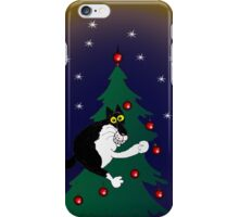 Xmas mischief: for the love of trees! iPhone Case/Skin