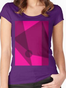 Rosy Dawn Women's Fitted Scoop T-Shirt