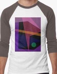 Dark Night Men's Baseball ¾ T-Shirt