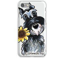 Sunny Schnauzer iPhone Case/Skin