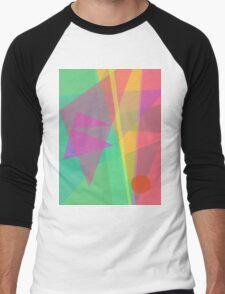 Soft Light Men's Baseball ¾ T-Shirt