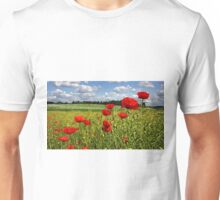 Fields of poppies Unisex T-Shirt
