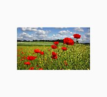 Fields of poppies Unisex T-Shirt