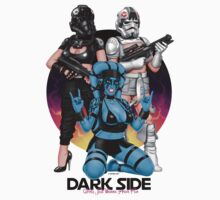 Dark Side Girls Just Wanna Have Fun by GerbArt