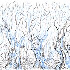 Line Forest by Regina Valluzzi