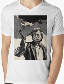 Clint Eastwood, Dirty Harry Mens V-Neck T-Shirt