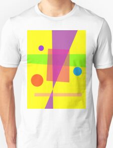 Existence Yellow Unisex T-Shirt