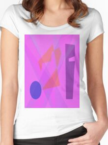 Train Ticket Women's Fitted Scoop T-Shirt