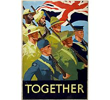 WWII Recruitment Poster Photographic Print