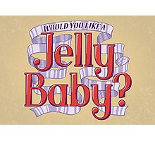 Would You Like a Jelly Baby? Photographic Print
